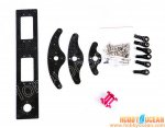 Carbon Fiber Rudder kit, RC airplane 100cc