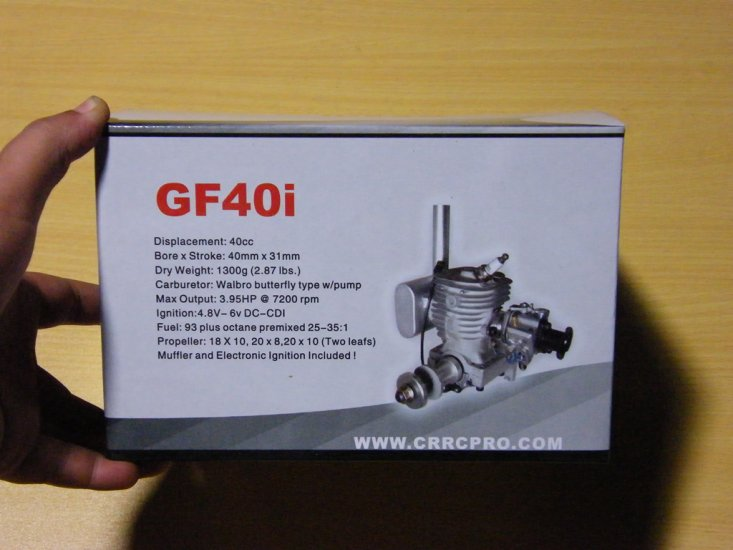 CRRCpro GF40i 40cc Engine Kits for Airplane - Click Image to Close